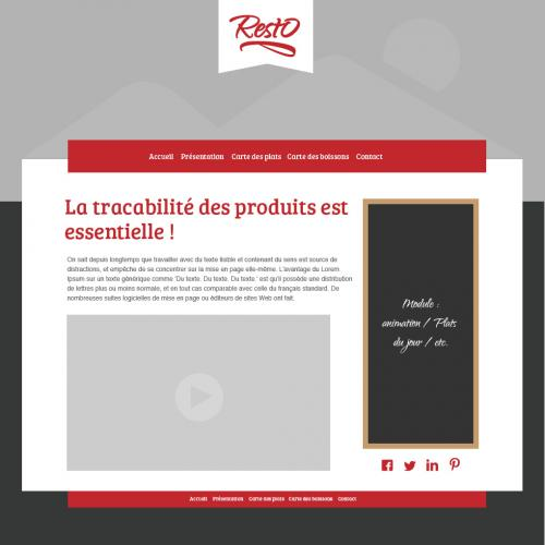 restauration web rapide